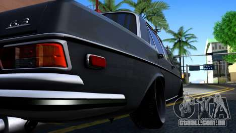 Mercedes-Benz 300SEL 6.3 para GTA San Andreas vista interior