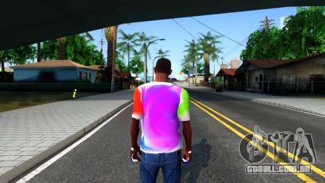 Mix T-Shirt para GTA San Andreas terceira tela