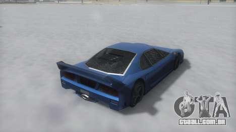 Turismo Winter IVF para GTA San Andreas vista direita