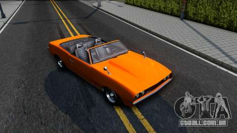 GTA V Declasse Vigero Retro Rim para GTA San Andreas vista direita
