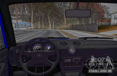 VAZ 2106 KBR para GTA San Andreas vista traseira