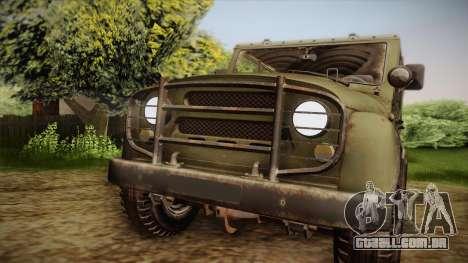 УАЗ-3151 CoD4 MW Remasterizada de FERTILIZAÇÃO i para GTA San Andreas vista direita