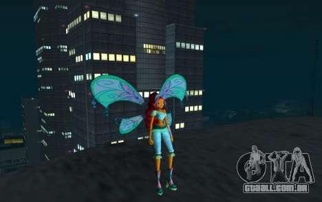 Aisha Believix from Winx Club Rockstars para GTA San Andreas