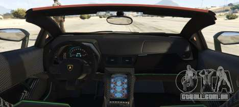 Lamborghini Centenario LP 770-4 Roadster para GTA 5