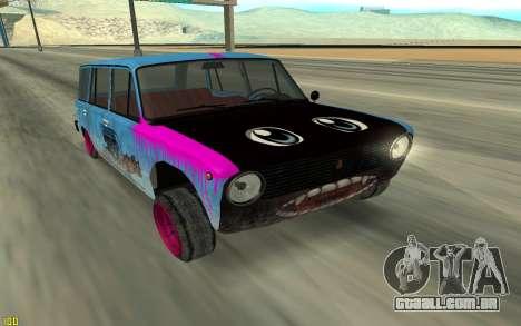 VAZ 2101 Inverno drifter para GTA San Andreas