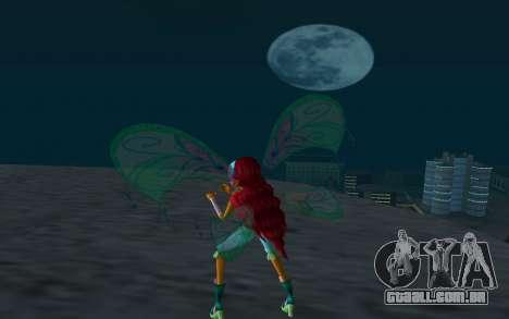 Aisha Believix from Winx Club Rockstars para GTA San Andreas terceira tela