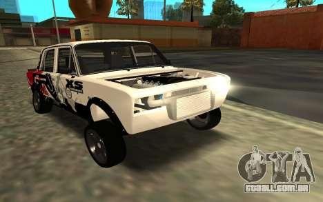 VAZ 2106 DERIVA para GTA San Andreas