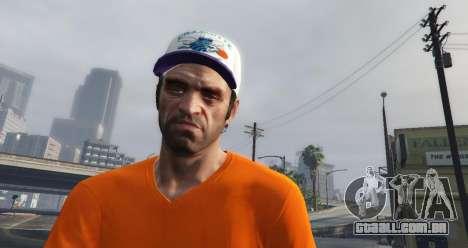 Cap Charlotte Hornets para Trevor para GTA 5