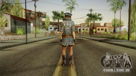 Resident Evil 6 - Helena COP Outfit para GTA San Andreas