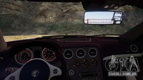 GTA 5 Alfa Romeo Spider 939 (Brera) voltar vista