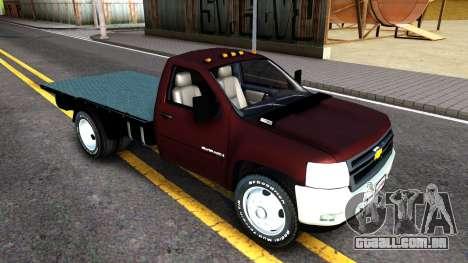 Chevrolet HD 3500 2013 para GTA San Andreas esquerda vista