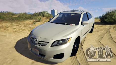 GTA 5 Toyota Camry 2011 DoN DoN Edition voltar vista