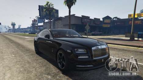GTA 5 Rolls-Royce Wraith 2015 voltar vista