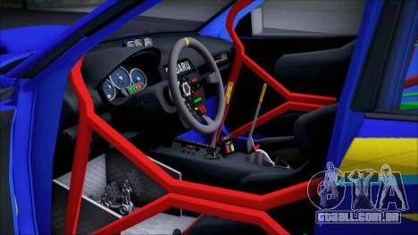 Subaru Impreza WRX STI WRC Rally 2005 para GTA San Andreas vista traseira