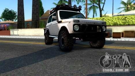 Lada Niva 4x4 Off Road para GTA San Andreas vista direita