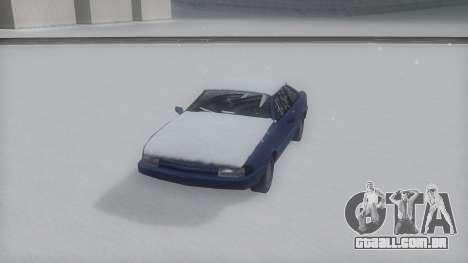 Cadrona Winter IVF para GTA San Andreas