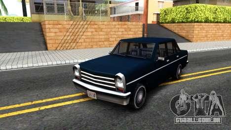 Perennial Sedan para GTA San Andreas
