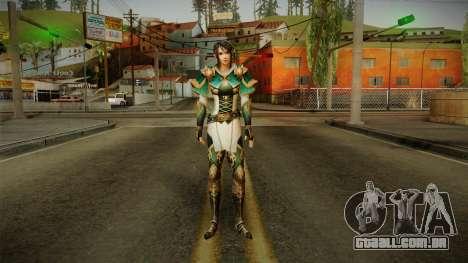 Dynasty Warriors 8 - Xing Cai para GTA San Andreas segunda tela