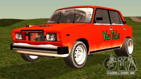 VAZ 2105 patch 4.0 para GTA San Andreas