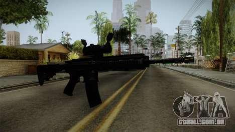 HK416 v2 para GTA San Andreas segunda tela