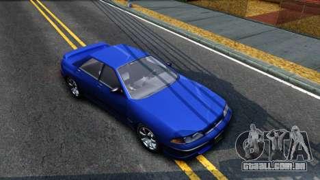 GTA V Zirconium Stratum Sedan para GTA San Andreas vista direita