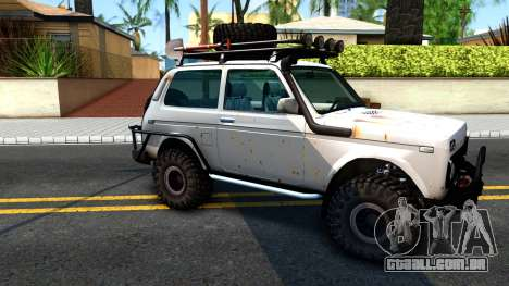 Lada Niva 4x4 Off Road para GTA San Andreas esquerda vista