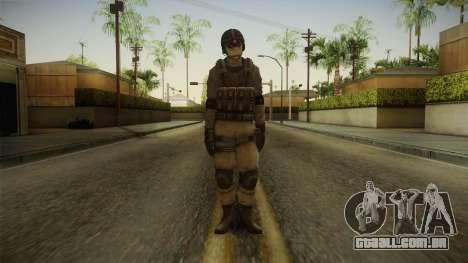 Resident Evil ORC - USS v2 para GTA San Andreas segunda tela