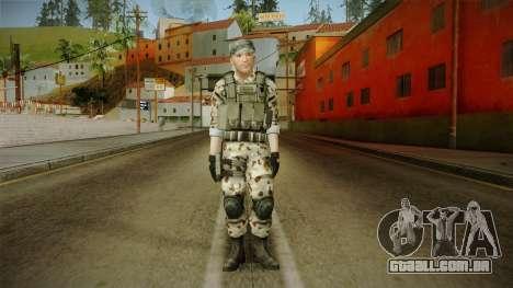 Resident Evil ORC Spec Ops v4 para GTA San Andreas segunda tela