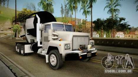 Realistic Cement Truck para GTA San Andreas