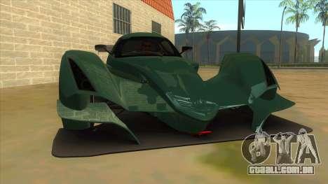 Praga R1 para GTA San Andreas vista traseira
