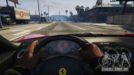GTA 5 Ferrari 430 Scuderia vista lateral direita