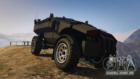 GTA 5 Punisher Unarmed Version voltar vista