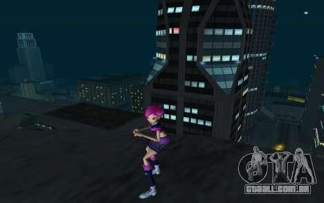Tecna Rock Outfit from Winx Club Rockstars para GTA San Andreas