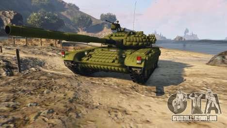 GTA 5 Tank T-72 voltar vista