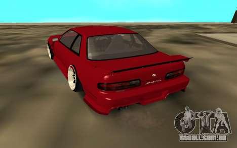 Nissan Onivea para GTA San Andreas traseira esquerda vista