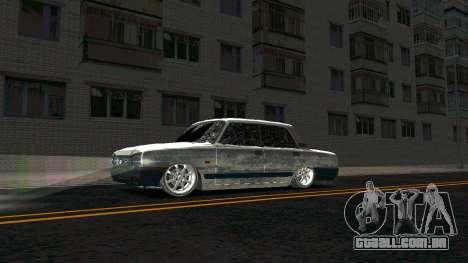 2107 Clássico 2 edição de Inverno para GTA San Andreas esquerda vista