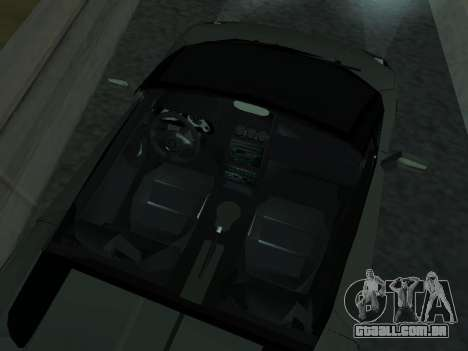 Lamborghini Galardo Spider para GTA San Andreas vista superior