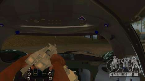Praga R1 para GTA San Andreas vista interior