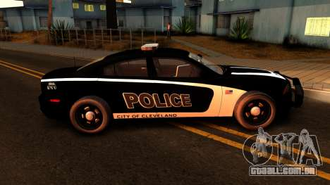 2014 Dodge Charger Cleveland TN Police para GTA San Andreas vista traseira