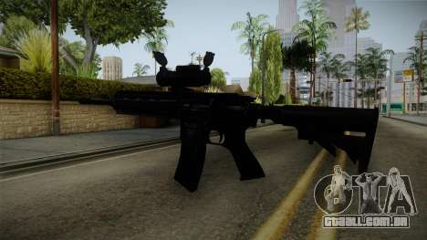 HK416 v2 para GTA San Andreas terceira tela
