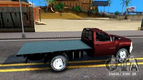 Chevrolet HD 3500 2013 para GTA San Andreas vista direita