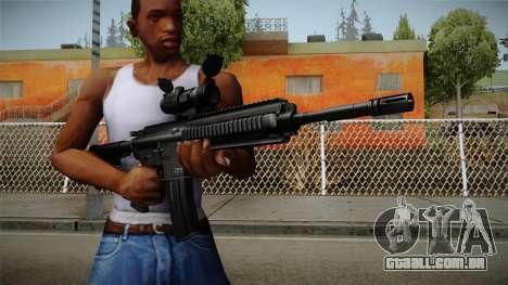 HK416 v2 para GTA San Andreas
