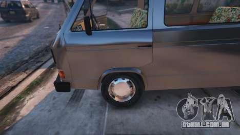 Volkswagen Caravelle T3 (1983) para GTA 5