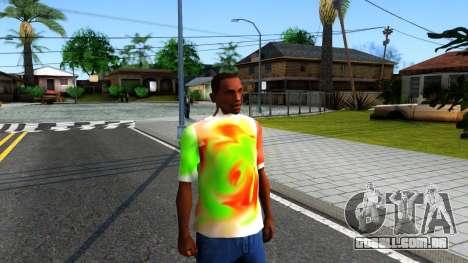 Mix T-Shirt para GTA San Andreas segunda tela