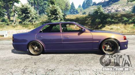 GTA 5 Toyota Chaser (JZX100) [add-on] vista lateral esquerda