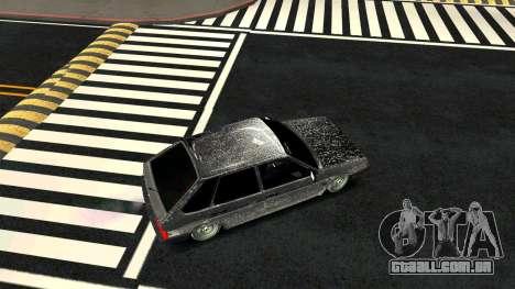2109 versão de Inverno para GTA San Andreas vista direita