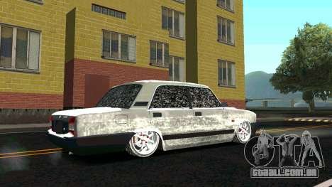 2107 Clássico 2 edição de Inverno para GTA San Andreas vista direita