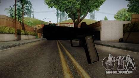 GTA 5 Heavy Pistol para GTA San Andreas segunda tela