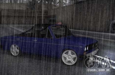 VAZ 2106 KBR para GTA San Andreas esquerda vista