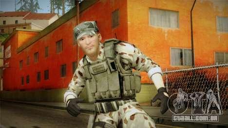 Resident Evil ORC Spec Ops v4 para GTA San Andreas
